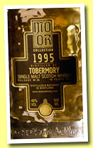 Tobermory 15 yo 1995/2010 (46%, Mo Or Collection, bourbon hogshead, cask #1646, 480 bottles)